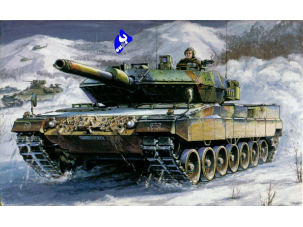 Hobby Boss maquette militaire 82402 Leopard 2 A5/A6 1/35