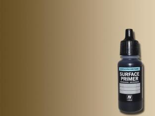 Vallejo Surface Primer 70606 Appret acrylique Polyuréthane Gelbraun RAL8000 17ml