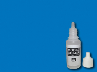 Vallejo Peinture Acrylique Model Color 70736 Bleu fluorescent 17ml