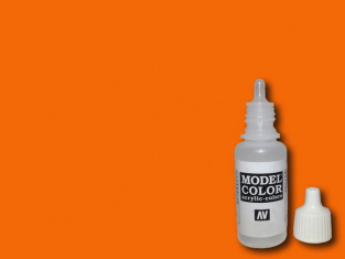 Vallejo Peinture Acrylique Model Color 70733 Orange fluorescent FS38903 - RAL2005 17ml