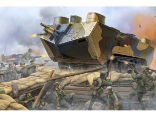 Hobby boss maquettes militaire 83858 Saint Chamond char lourd Français WWI 1/35