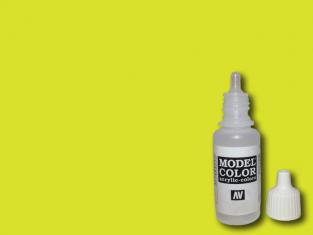 Vallejo Peinture Acrylique Model Color 70954 Jaune vert 17ml