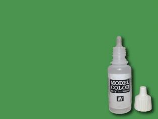 Vallejo Peinture Acrylique Model Color 70891 Vert moyen FS34227 - RAL6011 17ml