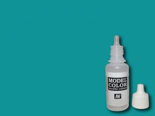 Vallejo Peinture Acrylique Model Color 70808 Bleu vert FS35275 - RAL5018 17ml