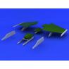 Eduard kit d'amelioration avion brassin 648234 Pylones F-104 Hasegawa / Eduard 1/48