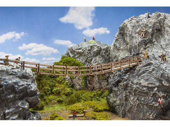 Faller construction 180391 Pont suspendu HO