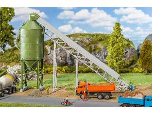 Faller construction 130174 Silo avec tapis convoyeur HO
