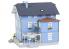 Faller construction 130439 Café maison Bleu HO