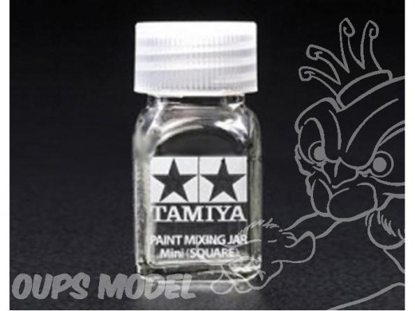 Tamiya 81043 Pot à peinture mini (carré)