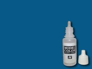Vallejo Peinture Acrylique Model Color 70930 Bleu foncé 17ml