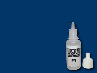Vallejo Peinture Acrylique Model Color 70925 Bleu intense 17ml
