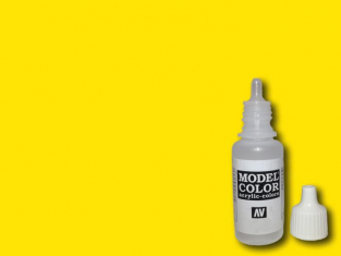 Vallejo Peinture Acrylique Model Color 70915 Jaune intense RAL1023 17ml