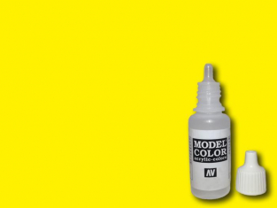 Vallejo Peinture Acrylique Model Color 70952 Jaune citron RAL1018 17ml