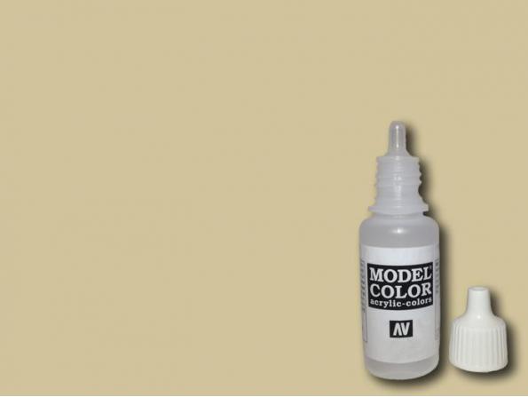 Vallejo Peinture Acrylique Model Color 70837 Sable clair 17ml