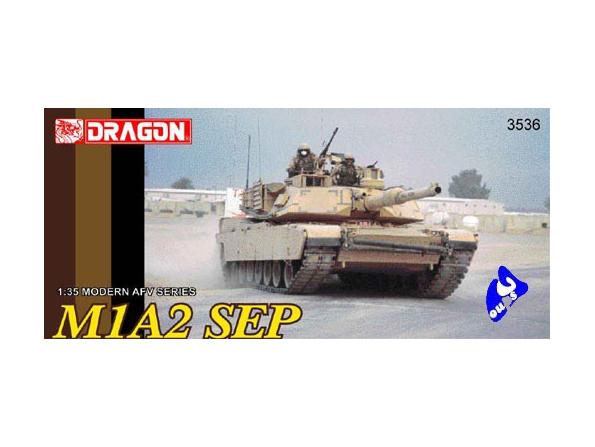Dragon maquette militaire 3536 Abrams M1A2 SEP 1/35
