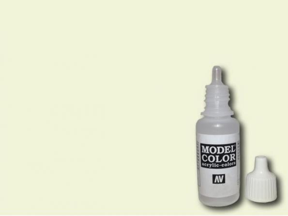 Vallejo Peinture Acrylique Model Color 70918 Ivoire 17ml