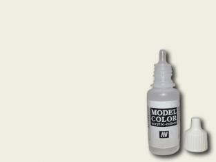 Vallejo Peinture Acrylique Model Color 70820 Blanc cassé FS37886 17ml