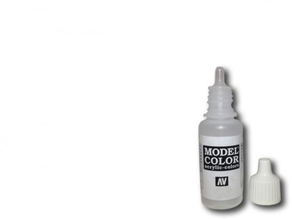 Vallejo Peinture Acrylique Model Color 70951 Blanc FS37925 - RAL9016 - RLM21 17ml