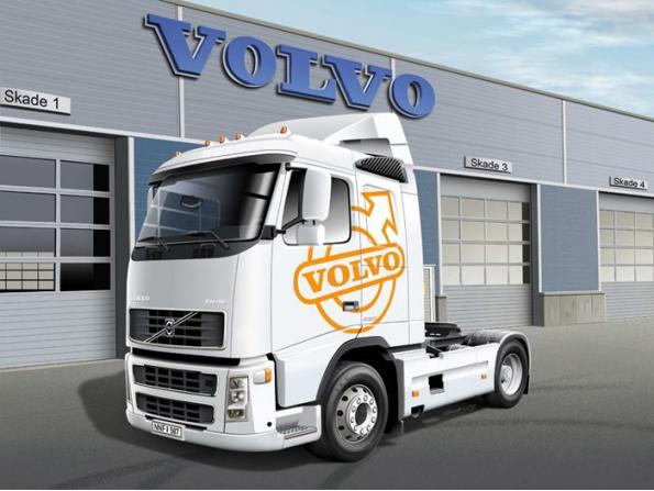 Italeri maquette camion 3907 Volvo FH16 520 Sleeper Cab 1/24