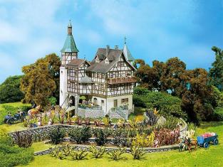 """Faller construction 130385 Chateau médieval """"Falkeneck"""" HO"""