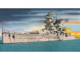 Italeri maquette bateau 502 Admiral Graf Spee 1/720