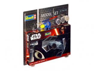 Revell maquete coffret 63602 Model Set Darth Vader's TIE Fighter 1/121