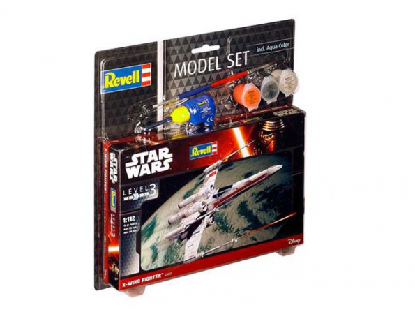 Revell maquete coffret 63601 Model Set X-wing Fighter 1/112