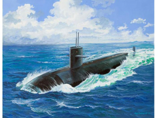Revell maquete sous marin 05067 USS DALLAS (SSN-700) 1/400