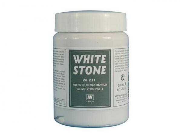 Vallejo 26211 Texture Blanc pierre 200ml
