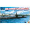 Riich Models maquette sous-marin 28008 USS LOS ANGELES CLASS SSN W/ DSRV-1 Sous Marin D'attaque (3 En 1) 1/350