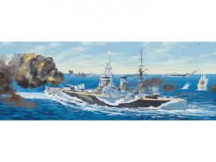 TRUMPETER maquette bateau 03709 HMS RODNEY - CUIRASSE BRITANNIQUE 1941 1/200