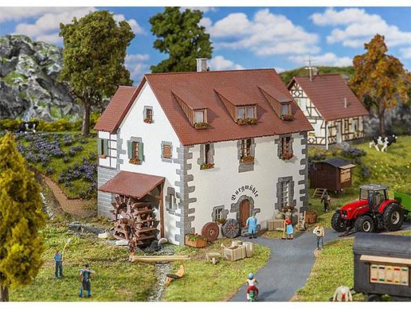 Faller construction 130189 Moulin du château HO