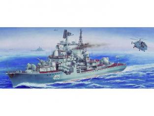 Trumpeter maquette bateau 03612 DESTROYER SOVIETIQUE CLASSE SOVREMENNIY TYPE 1 1/200