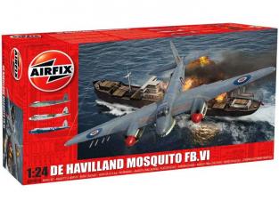 Airfix maquette avion 25001 De Havilland Mosquito FBVI 1:24