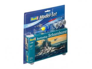 Revell 65136 Model Set Croiseur Scharnhorst 1/1200