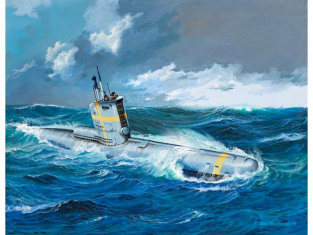 Revell maquette sous-marin 05140 Sous marin Allemand TYPE XXIII 1/144