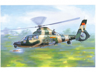 Trumpeter maquette helicoptére 05109 HÉLICOPTÈRE HARBIN Z-9WA ARMÉE CHINOISE 2015 1/35
