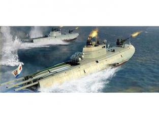 Merit maquette bateau 63503 VEDETTE LANCE-TORPILLES SOVIETIQUE CLASSE G-5 1/35
