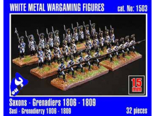 Mirage maquette FIGURINES 1503 Saxons Grenadiers 1/72