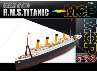 Academy maquette bateau 14217 RMS TITANIC MCP Snap 1/1000