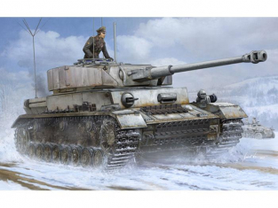 Trumpeter maquette militaire 00922 CHAR MOYEN ALLEMAND Pz.Beob. Wg IV Ausf. J 1/16