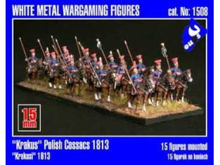 "Mirage maquette FIGURINES 1508 ""Krakus"" Polish Cossacs 1/72"