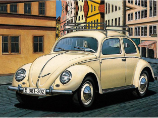 Mr Hobby maquette voiture G149 Volkswagen coccinelle fenetres ovale 1/24
