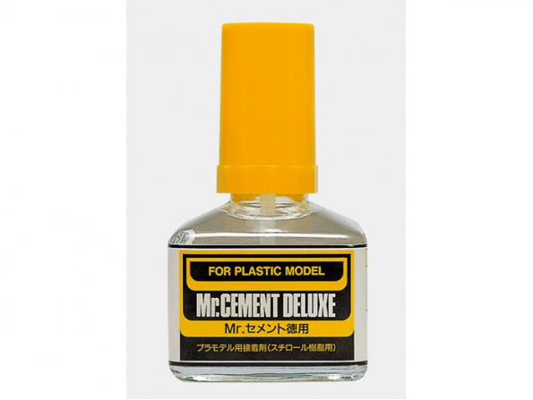 Mr Hobby mc127 Colle Maquette Pinceau Mr Cement Deluxe 40ml