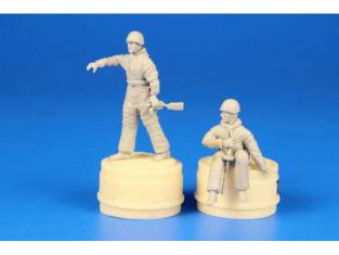 CMK Personnage resine F48294 TROUPES SOVIÉTIQUES MONTÉES SUR CHARS WWII partie 2 1/48