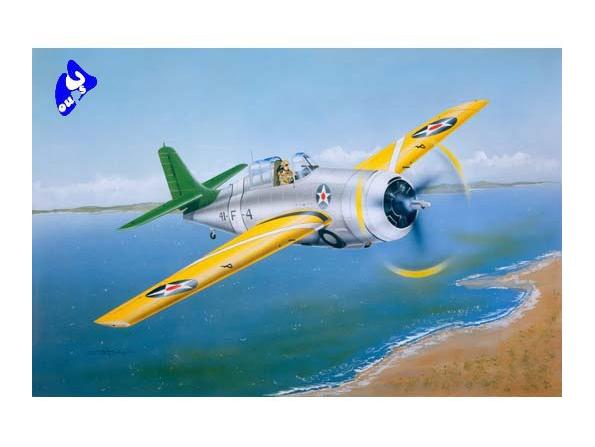 "Trumpeter maquette avion 02255 GRUMMAN F4F-3 ""WILDCAT"" 1/32"