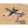 Italeri maquette avion 1376 A-10 A/C Thunderbolt II 25eme Anniversaire Guerre du golfe 1/72