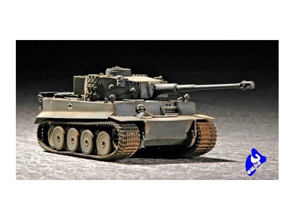 Trumpeter maquette militaire 07242 CHAR LOURD ALLEMAND TIGRE I 1
