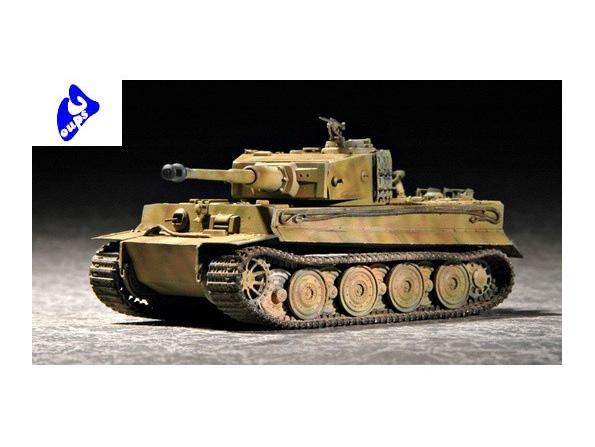 Trumpeter maquette militaire 07244 CHAR ALLEMAND TIGRE I 1/72