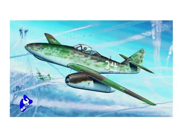 Trumpeter maquette avion 02260 MESSERSCHMITT Me 262 A-1a 1/32